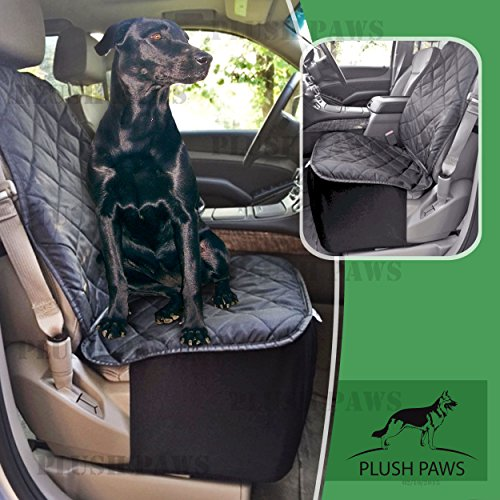 Plush Paws Co Pilot Pet Car Seat Cover For Bucket Seats