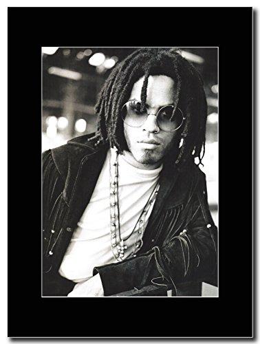 Lenny Kravitz _B W & Shot Magazine Promo su un supporto, colore: nero