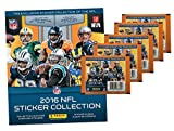 2016 Panini NFL Football Stickers Special Collectors Package with 1 Album and 5 Sticker Packs!