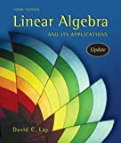 Linear Algebra and Its Applications, Updated plus MyMathLab Student Access Kit (3rd Edition) (0321280628) by David C. Lay