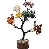 FairyBells Kart Energised Seven Chakra Crystal Tree FBKAC234 & Also Get Complimentary FairyBellsKart's Crystal...