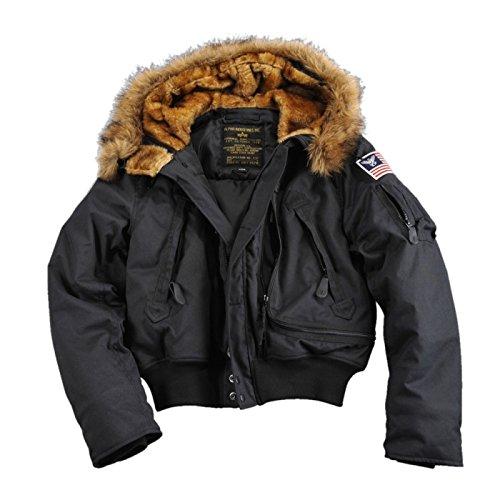 Alpha Industries – Polar SV Winterjacke schwarz jetzt bestellen