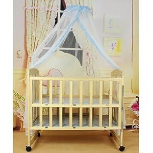 Crib Netting Store Baby Hanging Mosquito Net - Blue
