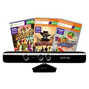XBox 360 Kinect 传感器 + Kinect冒险游戏