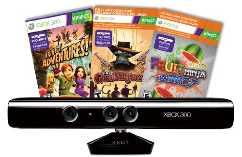 Kinect Sensor with Kinect Adventures and Gunstringer Token Code