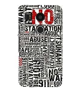 EPICCASE Catastrophe Mobile Back Case Cover For LG Nexus 5x (Designer Case)