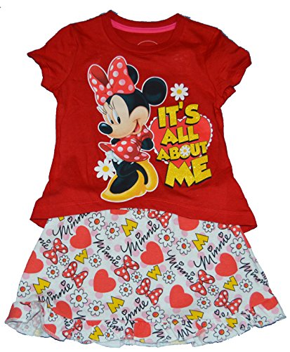 Toddler Minnie Mouse Dress front-1057