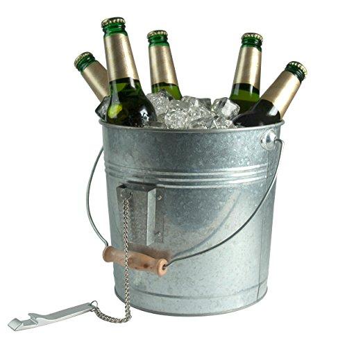 Artland Oasis Beverage Pail, Galvanized, Metal 2