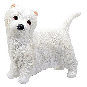 West Highland Terrier Puppy / Dog - Westie Statue Figurine Sculpture