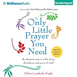 The Only Little Prayer You Need, Audiobook