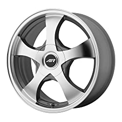 American Racing AR895 Series Dark Silver With Machined Face Wheel (17×7.5″/5×108,114.3mm)