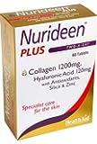 Nurideen Plus Tablets for Skin - Collagen, Hyaluronic Acid, Antioxidants - (60 Tablets)