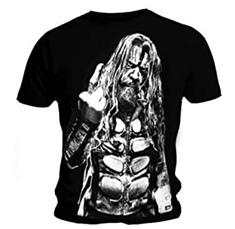 Official T Shirt ROB ZOMBIE Devils Rejects F*CK OFF L
