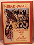 King Solomon's Mines (Chosen Books) (0216885167) by Haggard, H. Rider