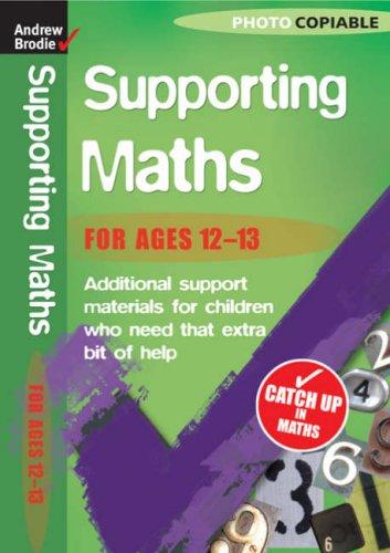 Maths 12-13 (Supporting Maths)