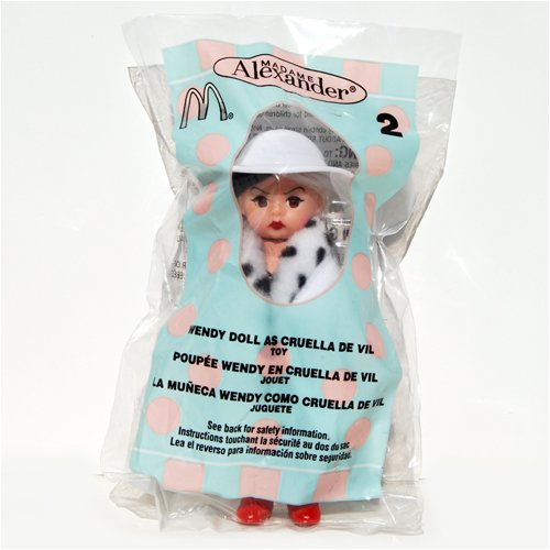 Madame Alexander Doll - Wendy Doll as Cruella De Vil - McDonald's 2004 #2 - 1