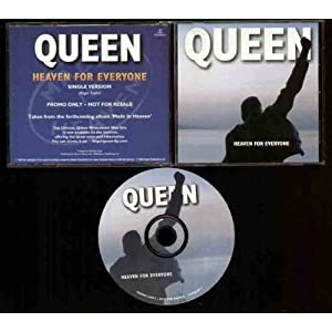 Queen - Heaven For Everyone - 1 Track Promo