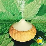 Nature's Mojo Aroma Diffuser Light Wood