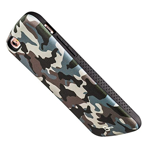 Apple iPhone 6 6S Mobile Case By Caseco - Shock Express Genesis Camo Drop-Proof Case - Shockproof Heavy Duty Cover - Anti-Slip Sleek Design - Military Standard Tested Desert Camo