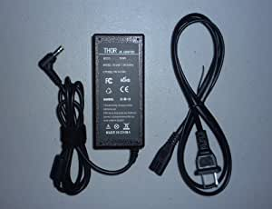 Compatible Toshiba Satellite Laptop Pc Ac Adapter for Models L305-sp6995a L305-sp6995c L305-sp6995r L355-s78312 L455d-sp5012l L455d-sp5012m L455-s1591 L455-s1592 L455-s5009 L455-s5045 L455-s5046 L455-sp5017 L500-st55x3 L505d-es5027 Power Cord Charger Plug