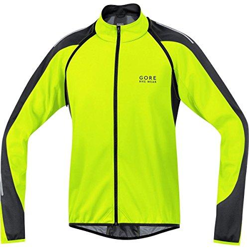 Gore Bike Wear Phantom 2.0 Windstopper Soft Shell - Chaqueta para hombre, color amarillo neón / negro, talla 89.49€
