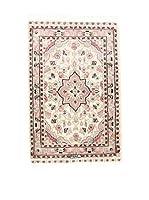 L'Eden del Tappeto Alfombra Kashmirian F/Seta Rosa / Crudo 58 x 92 cm