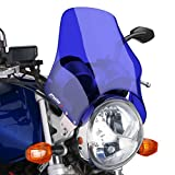 Fly screen Puig Naked blue for Yamaha SR 125/ 250, XJ 600 N, XJR 1200/ SP/ 1300