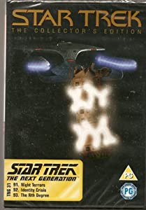 STAR TREK - THE COLLECTOR'S EDITION - TNG 31 - NIGHT TERRORS, IDENTITY CRISIS, THE NTH DEGREE - NEW & FACTORY SEALED - VERY HARD TO COME BY SEALED - RARE