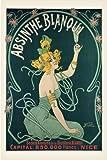 Nouer Absinthe Blanqui Art Maxi Poster Print - 61x91 cm ohne Rahmen