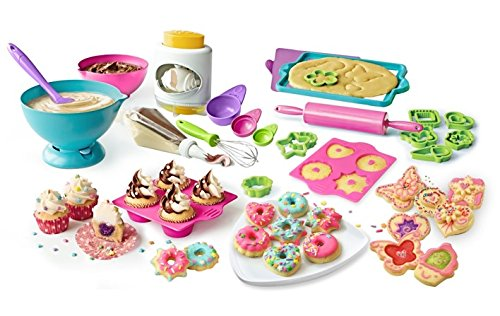 Real Cooking Supreme Baking Set - 70 Pc. Kit Includes Mixes, Candy, Chocolate & Frosting (Cooking Kids Set compare prices)