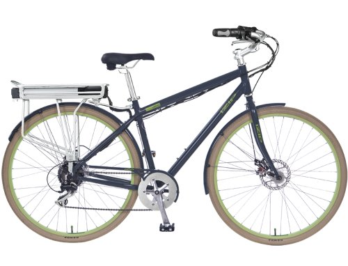 IZIP E3 PATH 24 Volt Lithium Ion Electric bicycle - Grey (Men's) Currie Tech