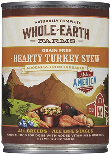 Merrick Whole Earth Farms Hearty Turkey Stew - 12 x 12.7 oz