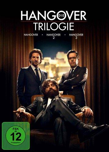Die Hangover Trilogie (Hangover / Hangover 2 / Hangover 3) [3 DVDs]