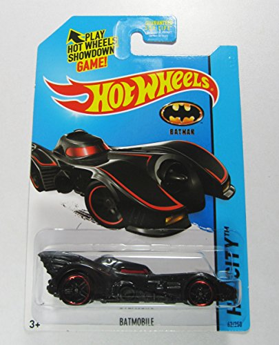 2013 Hot Wheels Batmobile HW City Car Batman Toy