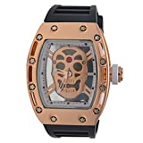 Merchant eShop Merchant eShop Skeleton Design Transparent Watch Analog Men's Watch.