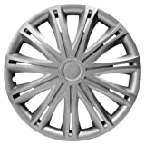 VAUXHALL CORSA BREEZE (06-) PREMIUM SPARK WHEEL TRIM HUB CAP SET 14 INCH