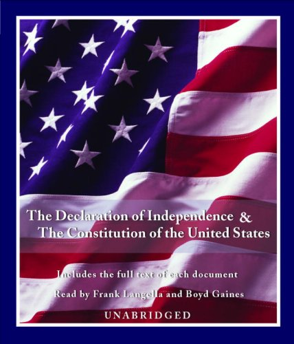 the constitution and the declaration of independence of the united states of america To encourage people everywhere to better understand and appreciate the principles of government that are set forth in america's founding documents, the cato institute is pleased to publish this pocket edition of the declaration of independence and the constitution of the united states of america.