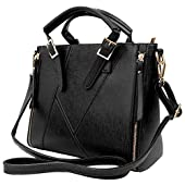 VG Women's Paneled Pallia Business Satchel Messenger Hand Bag