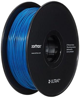 Zotrax 10542 Z-ULTRAT Filament, 1.75 mm, 800 g, Blue