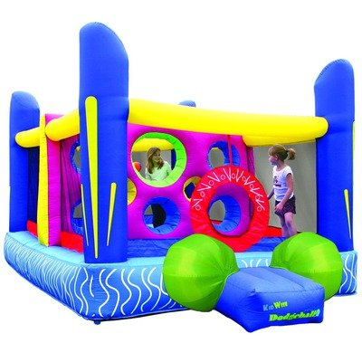 Kidwise Jump'N Dodgeball Inflatable Bounce House Bouncer