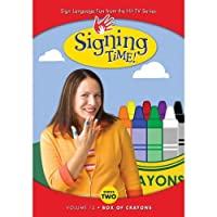 Signing Time Series 2 Vol. 12 - Signing Time Box of Crayons
