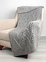 Bottega Tessile Plaid Gris 130 x 170 cm