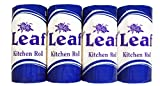 Leaf Kitchen paper Roll, White Colour, 200Pulls Combo pack of 4