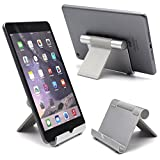 Ipad Stand, Taidea® Multi-Angle Stand Aluminum Holder for Tablets, e-readers and Smartphones, Compatible with iPhone, iPad, Samsung Galaxy / Tab, Google Nexus, HTC, LG, Nokia Lumia, OnePlus and More