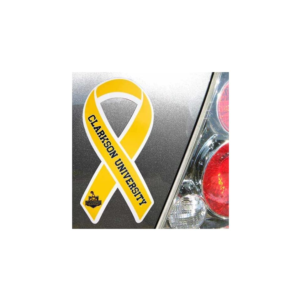 NCAA Clarkson Golden Knights Ribbon Magnet on PopScreen 5a84d7e492ba
