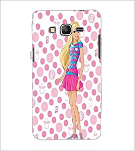 PrintDhaba Beautiful Girl D-1180 Back Case Cover for SAMSUNG GALAXY GRAND PRIME (Multi-Coloured)