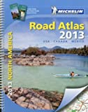 img - for By Michelin Travel & Lifestyle Michelin North America Road Atlas 2013 (Atlas (Michelin)) (2012) Spiral-bound book / textbook / text book