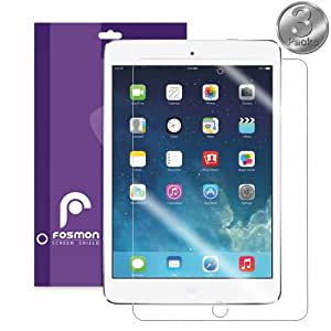 "Fosmon iPad Air Clear Screen Protector for Apple iPad Air 9.7"" Tablet / iPad Air 2 2014 - 3 Pack"