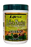511tdRiMqoL. SL160  Lifetime Lifes Basics Plant Protein with Greens,  20.5 Ounces Tub
