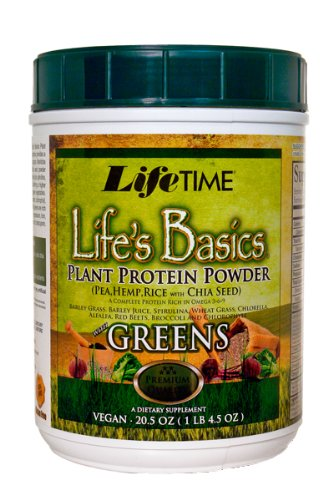 Lifetime Life's Basics Plant Protein  Greens, 